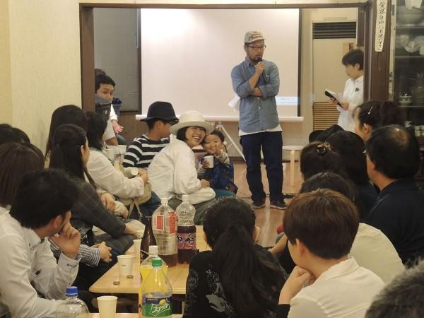 おおいに盛り上がった菊地健雄監督トークショー