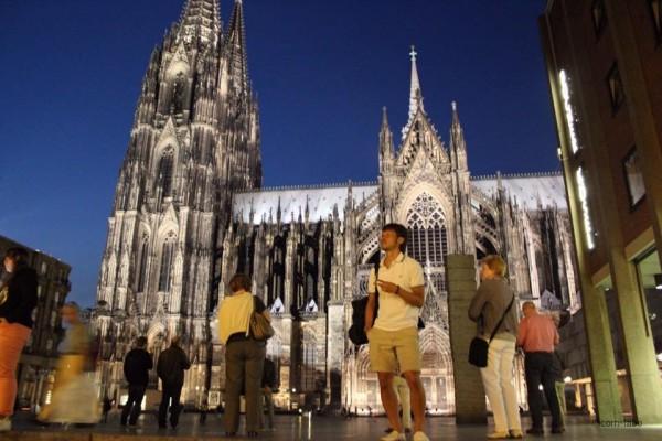 世界遺産のケルン大聖堂。いまはケルン(Köln)に住んでいます。