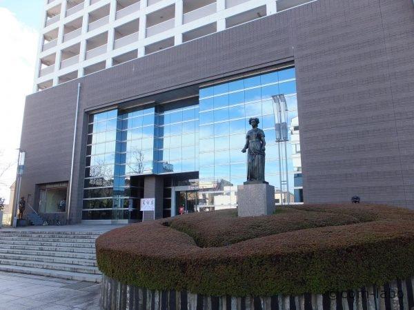 展示が行われる足利市立美術館