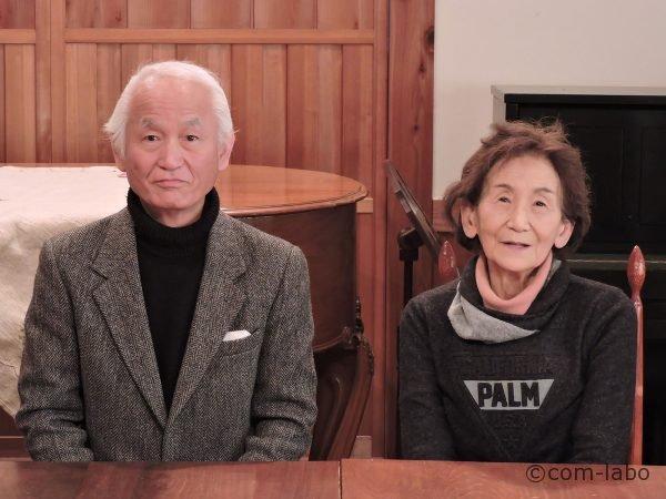 左から大川眞園長、園長母の大川繁子保育士