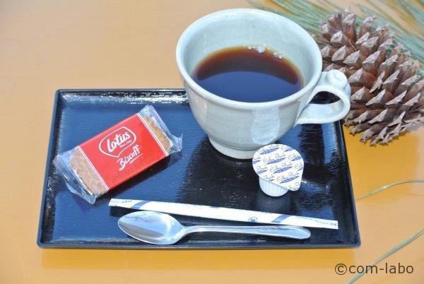 コーヒーは、一杯300円