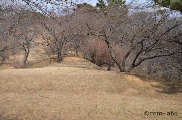 前方後円墳の全長は34メートル