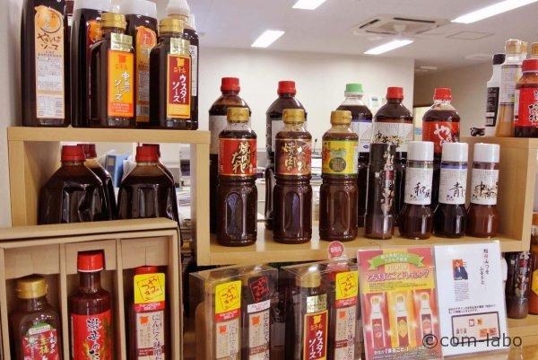 業務用だけでなく太平記館、市内スーパーなどで家庭用調味料を販売しています。