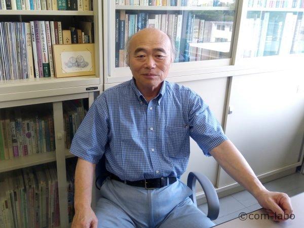 足利工業大学准教授の福島先生。土木遺産や洋風建築物など歴史的建造物の評価と活用方法に関する研究をされています。