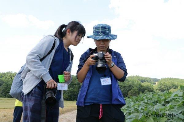 写真甲子園での機材は各校にキヤノン一眼レフが貸与されます。普段はニコンを使っているそうです