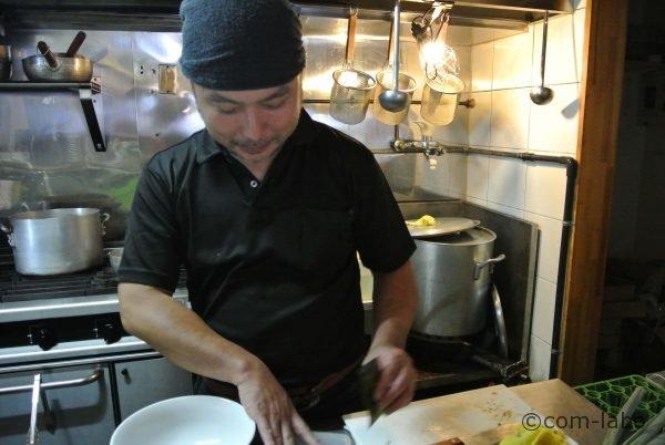 「麺や松」店長の松島文久さん