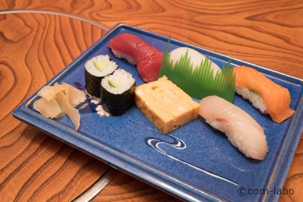 こだわりの食材を使用した「遊」のにぎり鮨