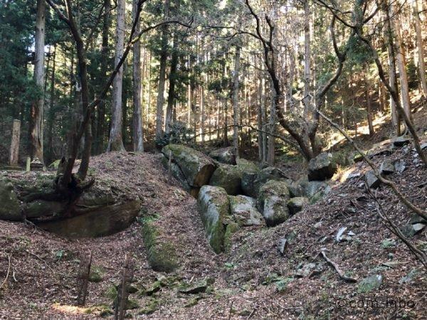 国指定天然記念物「名草巨石群」